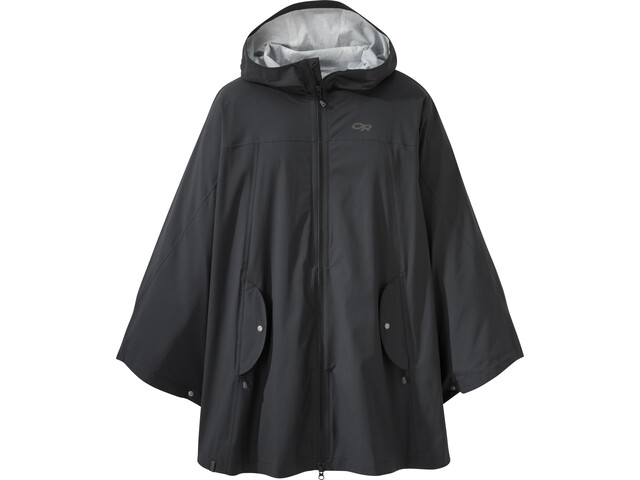 Outdoor Research W's Panorama Point Poncho Black
